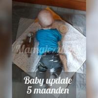 Baby update - 5 maanden oud